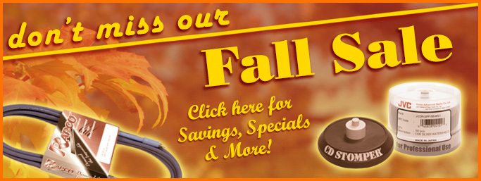 Fall Sale now in full swing!
